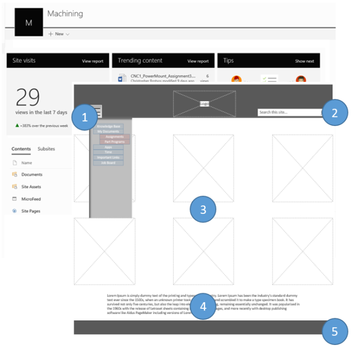 Wireframes and Comps
