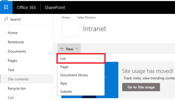 Business Management O365 SharePoint CLM Customers List